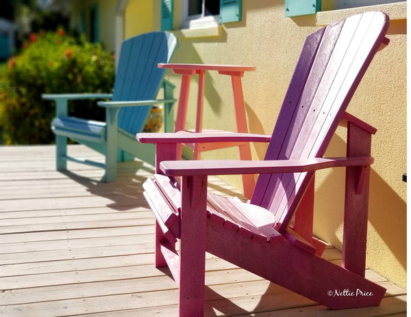 Sanibel Chairs Print Mobile Photography