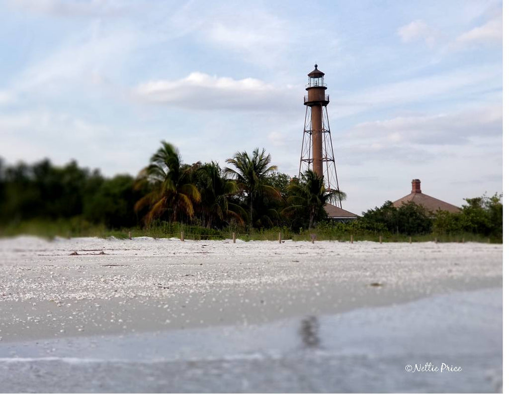 Sanibel Island Light Print Mobile Photography