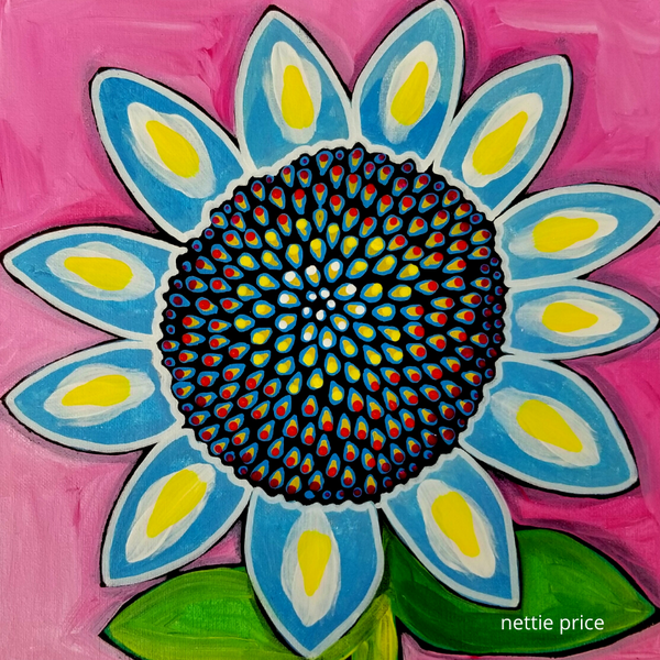 Sunflower 2 Original Acrylic on Canvas