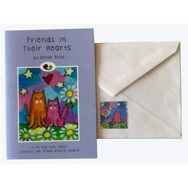 Pet Sympathy Mini Book Mailer cat version