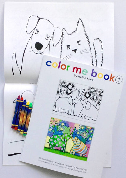 Color Me Book 1 Coloring Book Nettie Price Sparkling Art