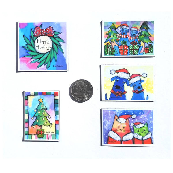 Sparkling Mini Magnet Holiday Collection