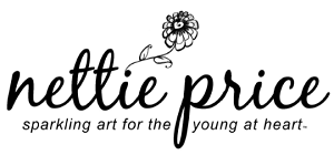 Nettie Price Sparkling Art logo