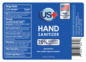 4 oz Hand Sanitizer Spray, 75% Isopropyl Alcohol (multipack)
