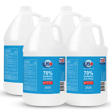 Load image into Gallery viewer, Copy of 4 Gallons US+ 70% Isopropyl Alcohol Bulk (1 Gallon x 4) - USP/Medical Grade