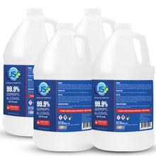 Load image into Gallery viewer, 4 Gallons US+ 99% Isopropyl Alcohol USP/Medical Grade Bulk (1 Gallon x 4)