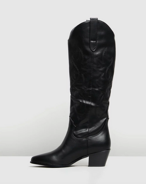 Urson Black Boot