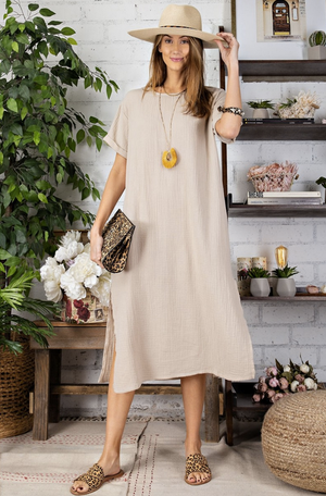 Cotton Gauze Midi