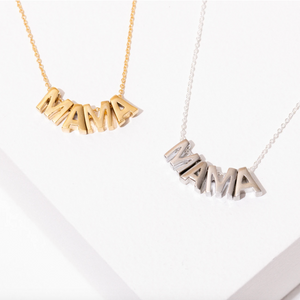 Mama Brass Necklace