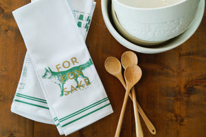 Vintage Inspired Dishtowel