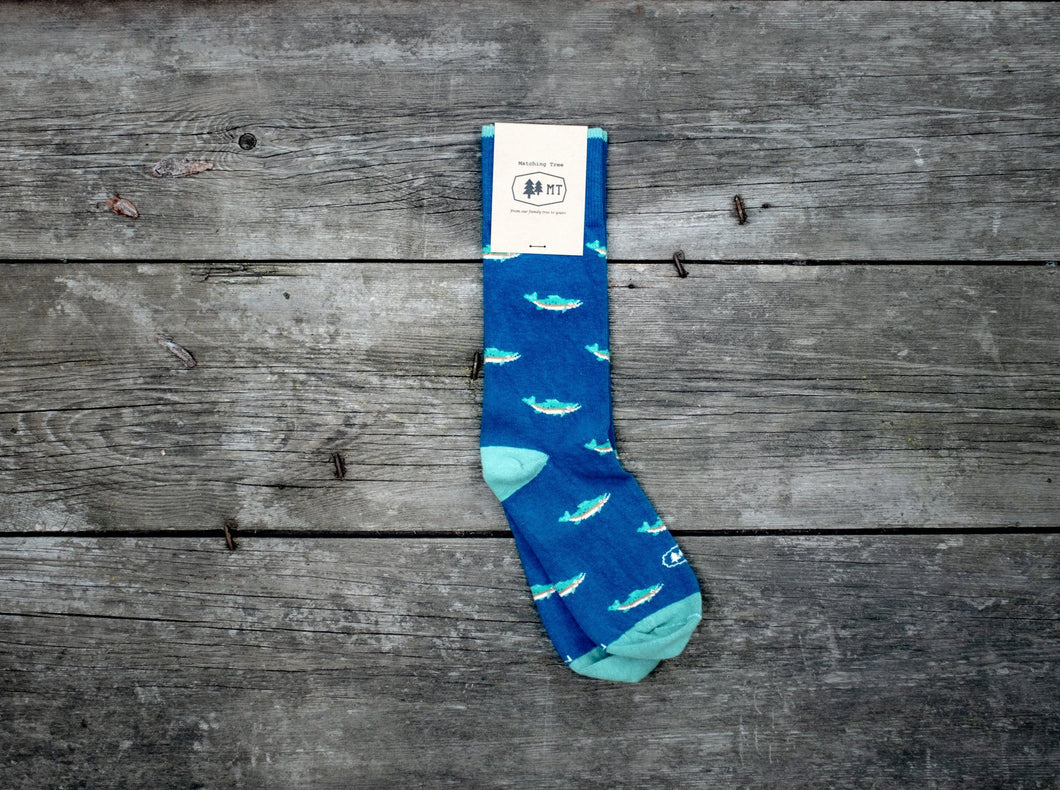 The Rainbow Trout Sock