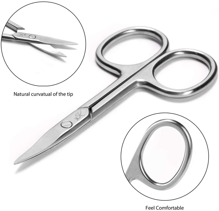 Kanddit Beauty™ Nail Scissors Cuticle Clipper Set 4