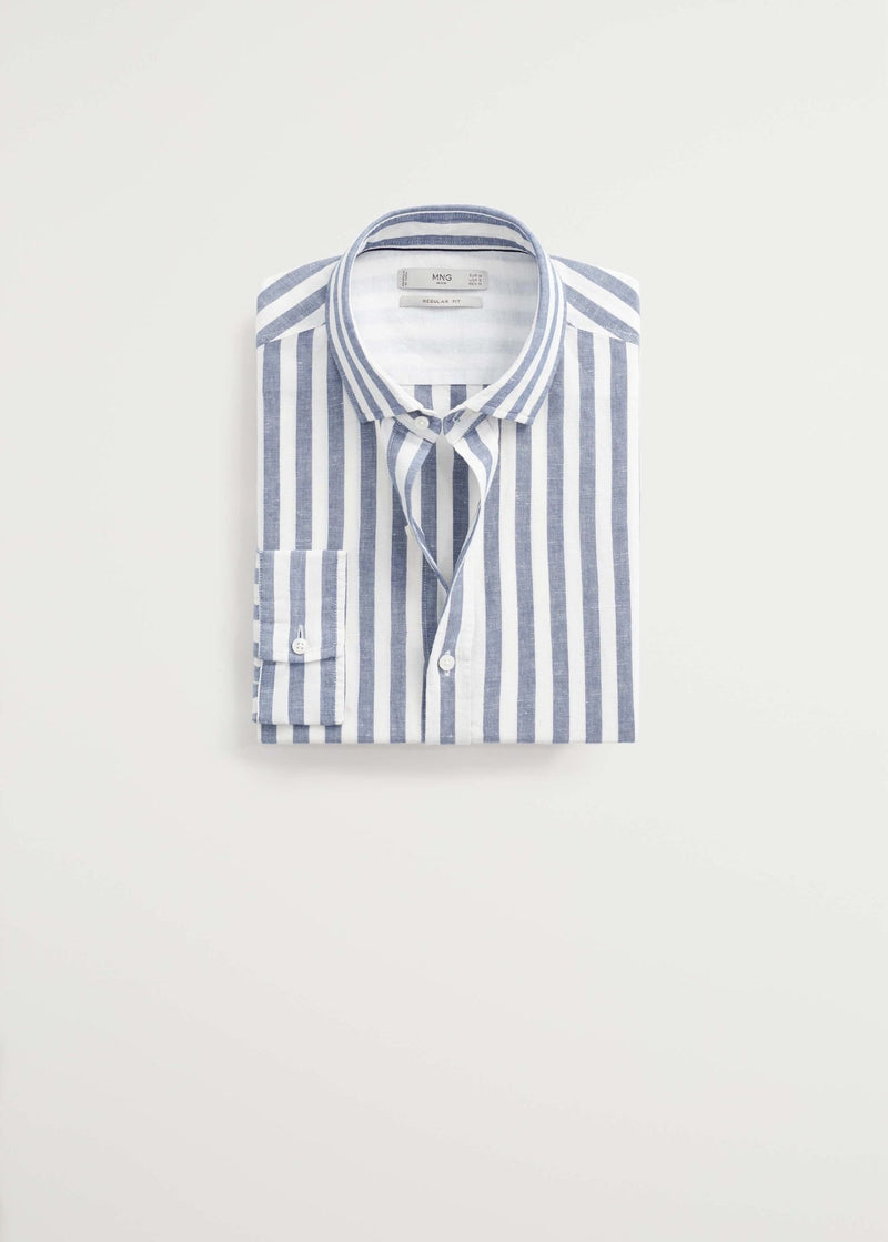 MNG Camisa Regular - Carpeta