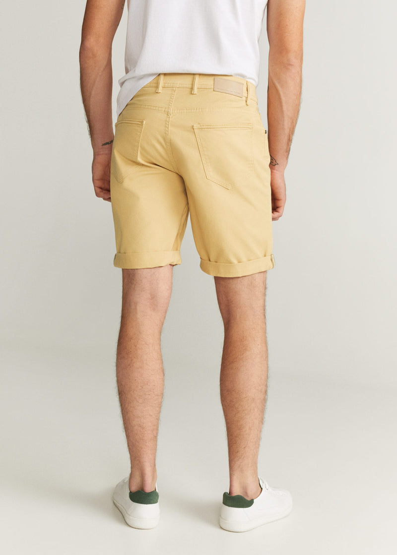 MNG Bermuda Denim Color - Ocre