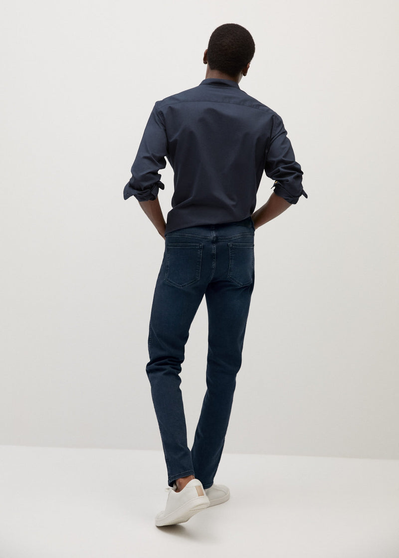 MNG Jeans Patrick Slim Fit Ultra Soft Touch - Blueblack
