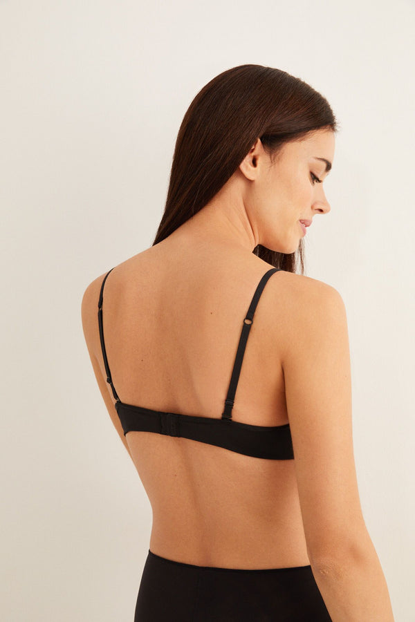 Sujetador Basic Brases Push Up - Negro