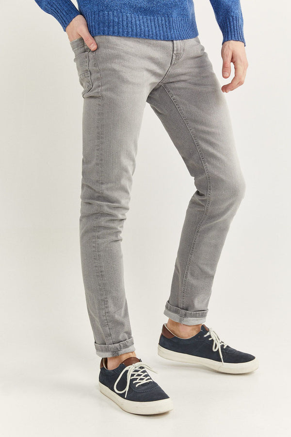 Jeans Skinny-Gama Grises