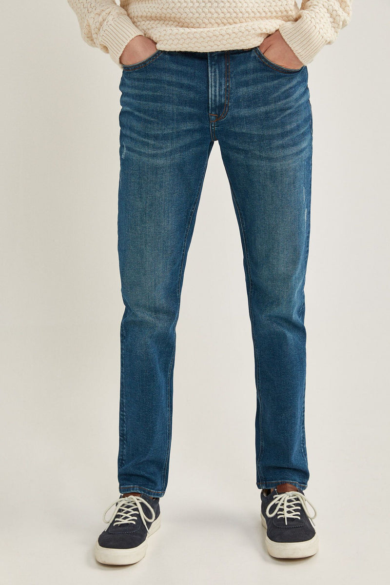 Jeans Slim Blue Green-Gama Azules