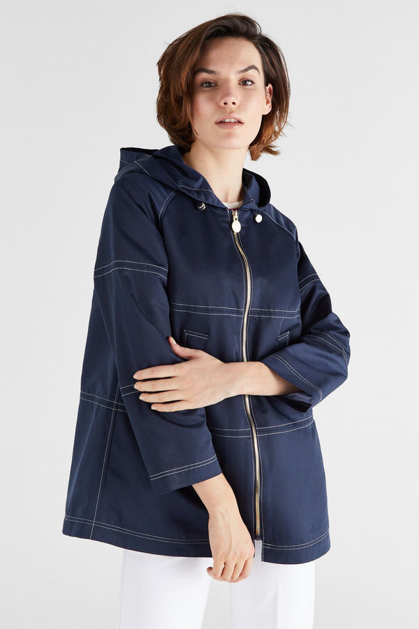 Jackets-Parka -Navy