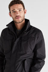 CTF Chaqueta 4 Bolsillos Combinable All Weather - Negro