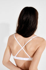 Sujetador Push Up sin Aros - Blanco