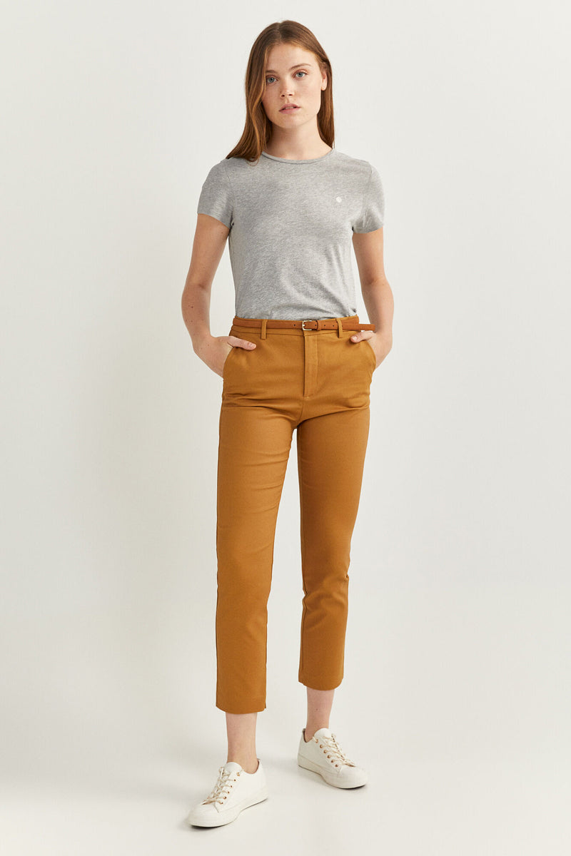 SPF Coloured Chinos - Beige/Camel