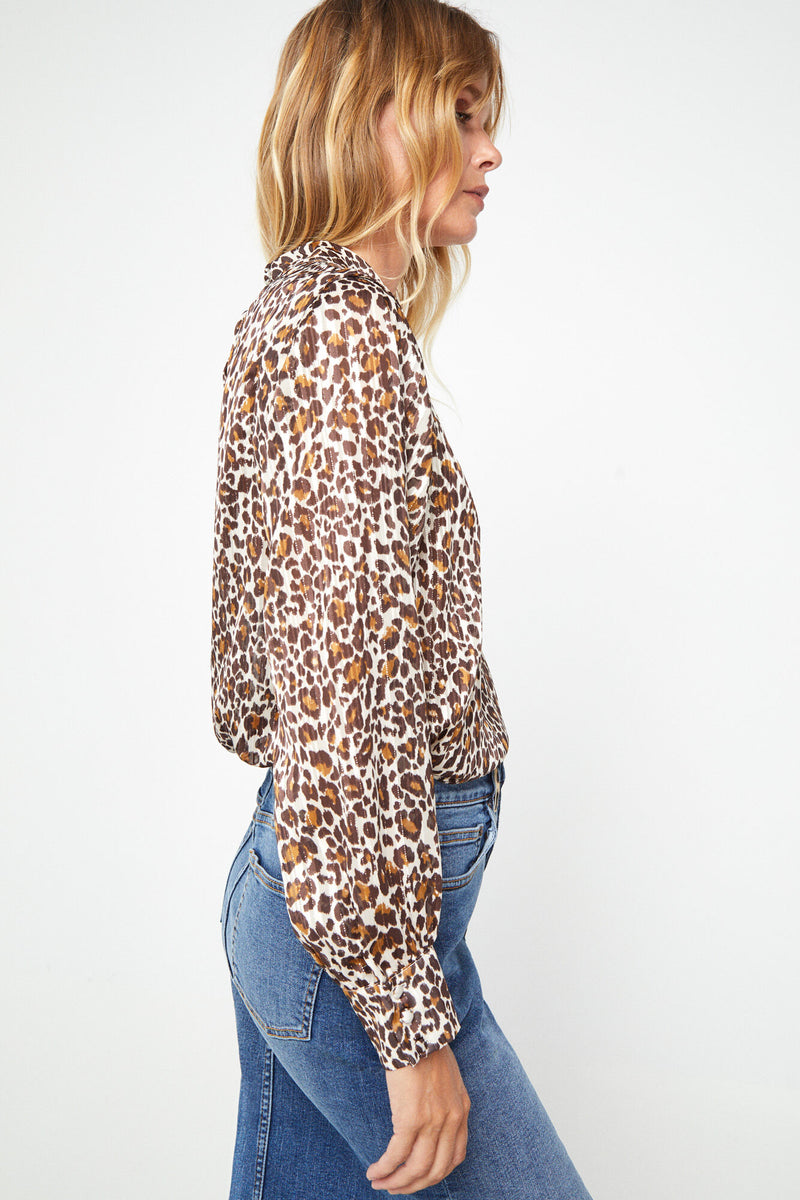 CTF Top Animal Print - Estampado Marrón