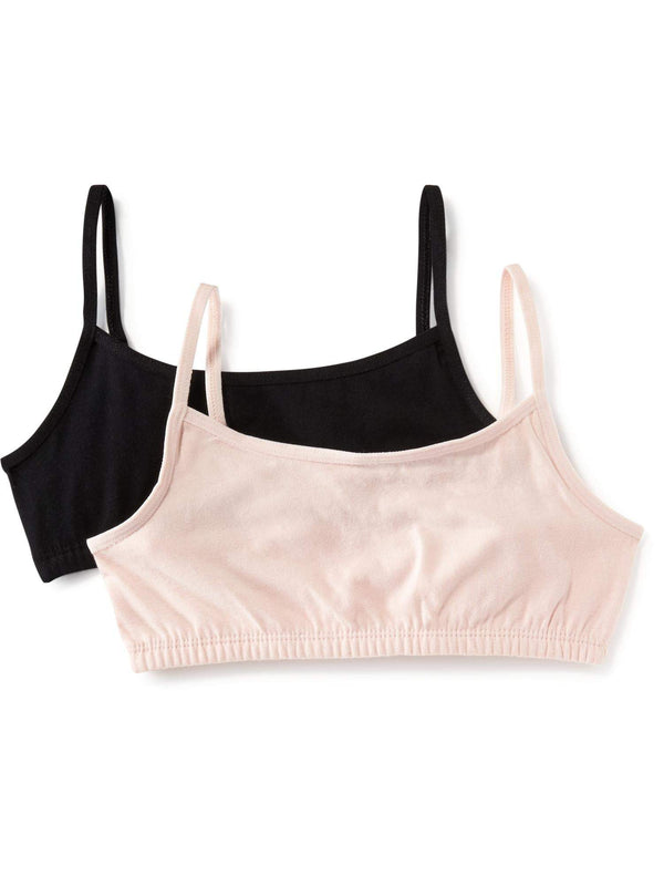 ON Accesorio Cami Bra 2-Pack For Girls - Solid Combo