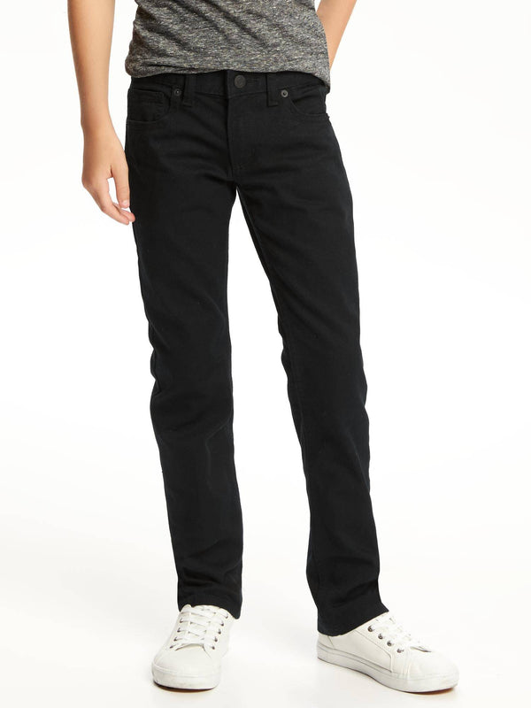 Basic Jeans- Skinny Black-Black Wash