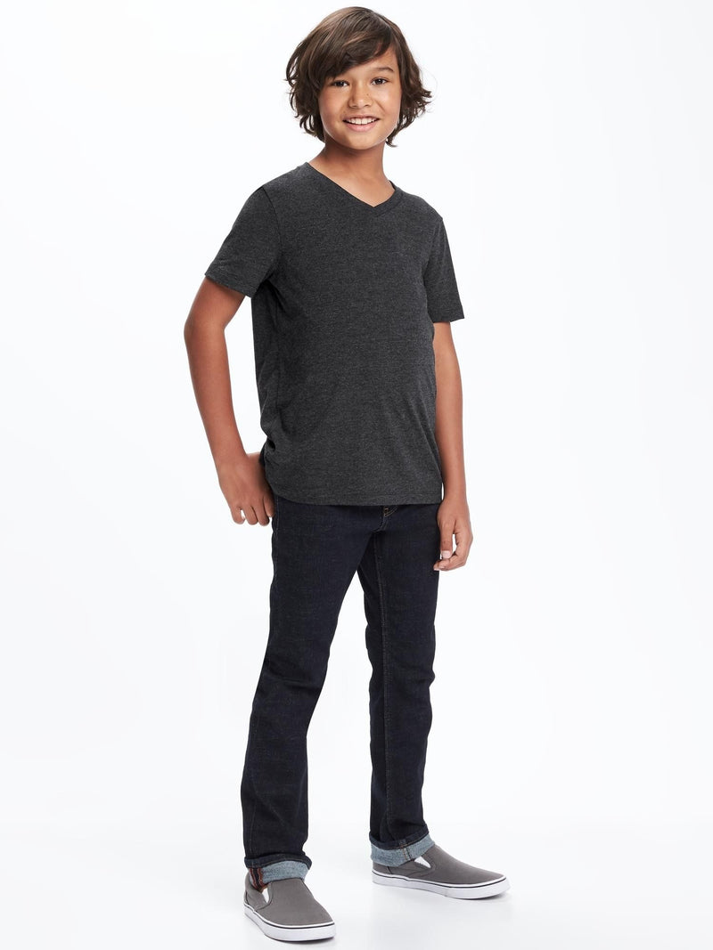 ON Camiseta Softest V-Neck Tee For Boys - Negro