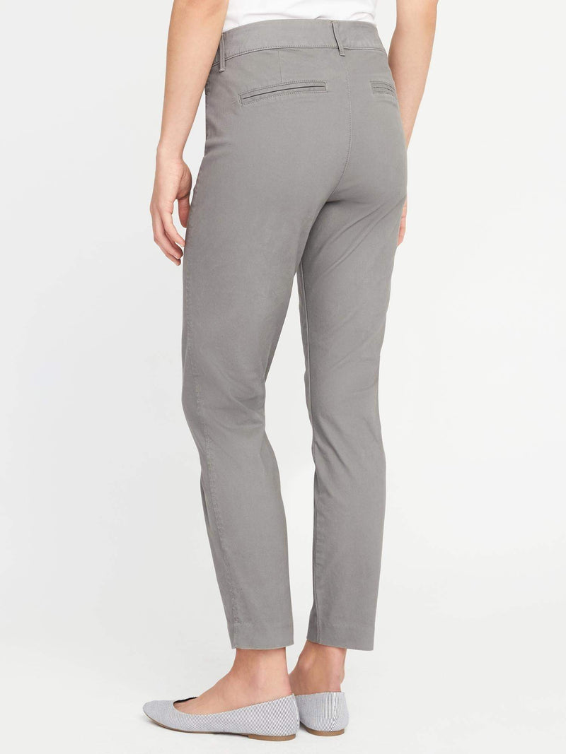 ON Pantalón Mid-Rise Pixie Ankle Chinos For Women - Greystone