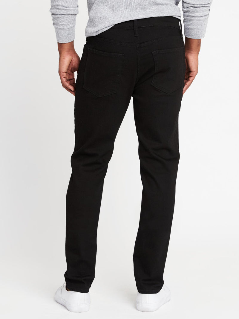 Denim-Slim Fashion-BLACK RINSE
