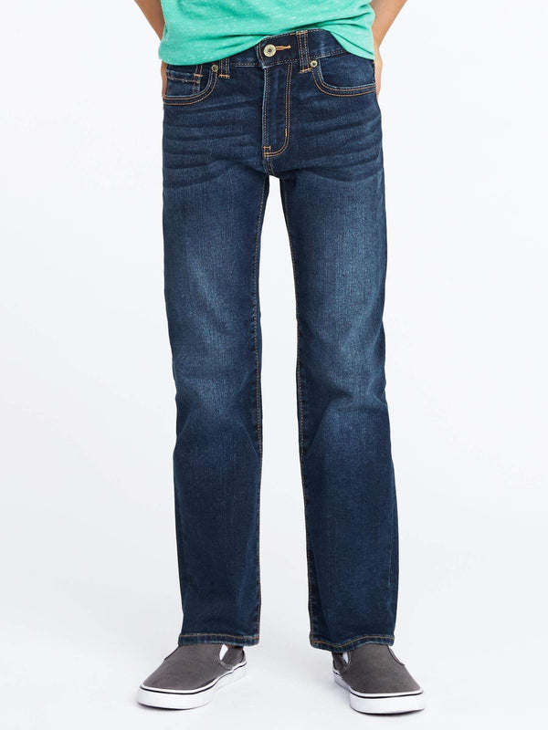 Basic Jeans-Flex Straight-Dark Wash