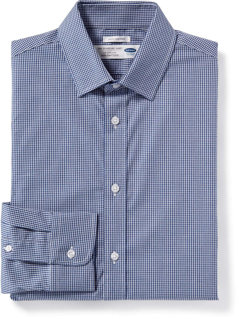 Camiseta Manga Larga Slim Signature Shirt-Blue It Off