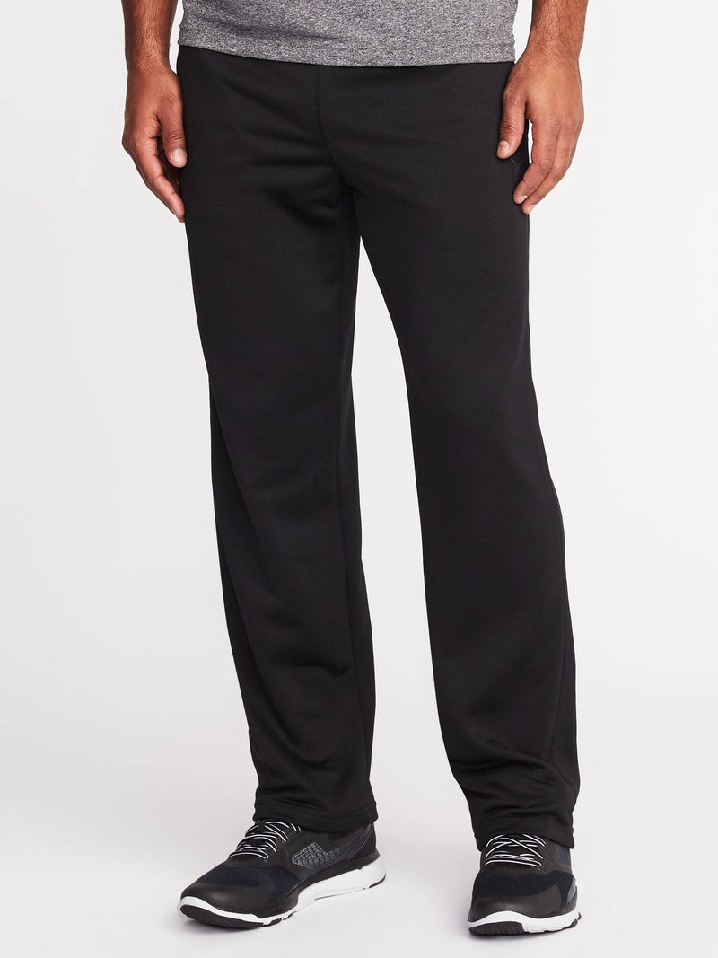 ON Ejercicio Go-Dry French Terry Pants For Men - Negro Jack