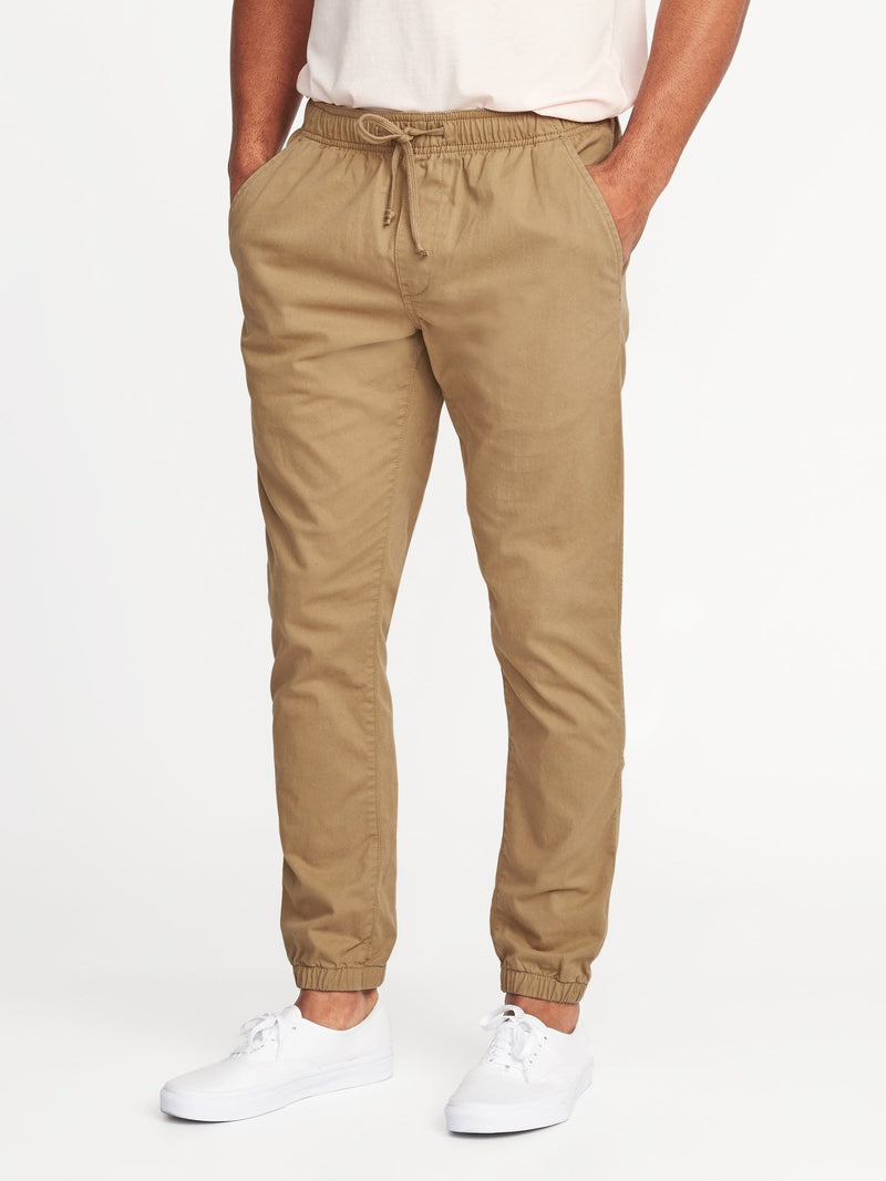 ON Pantalón Built-In Flex Twill Joggers For Men - Basswood Café