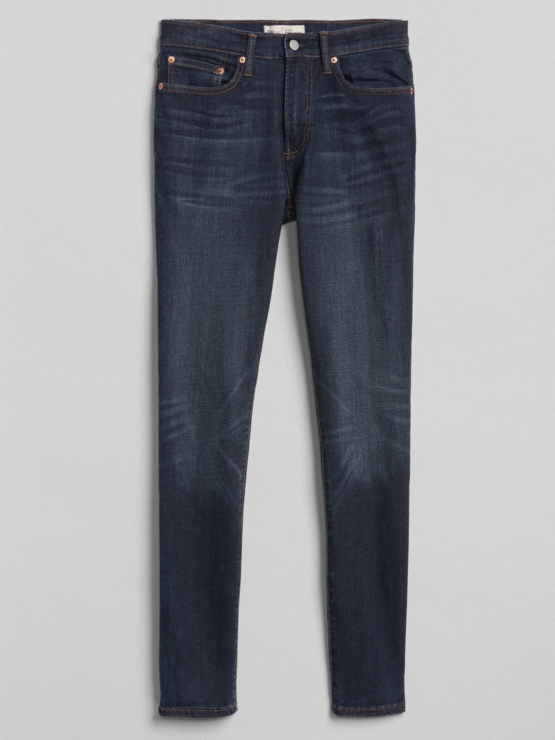 Denim 5 Pkt-Super Skinny -WORN DARK
