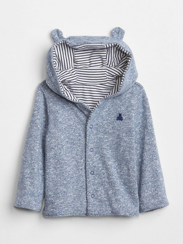 Sweater Active Layer-Hoody-BLUE TRACK