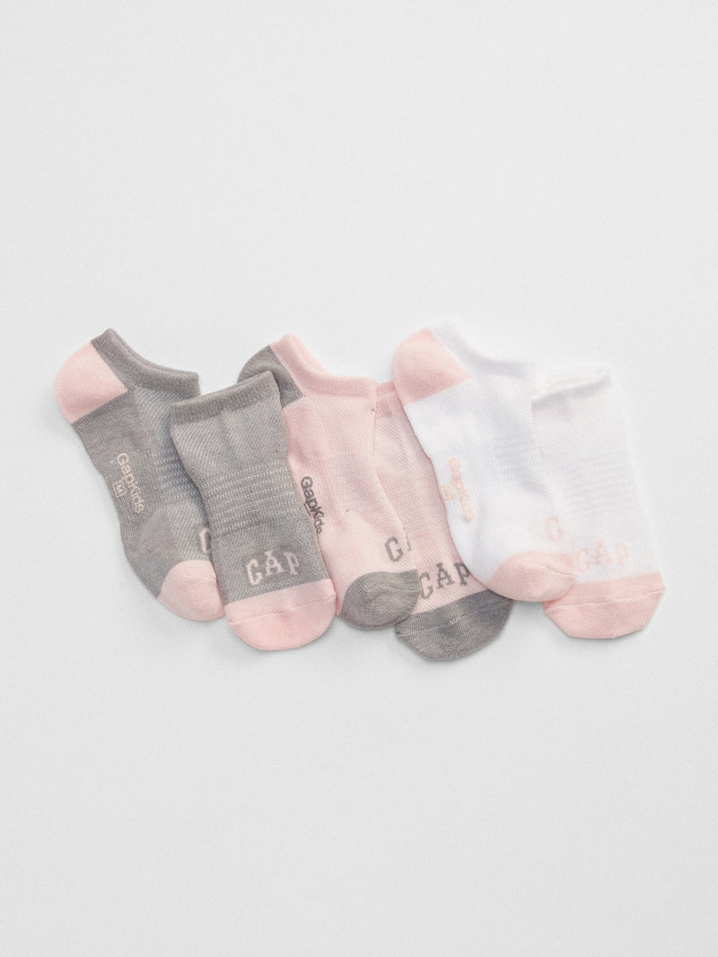 Gap Kids No-Show Socks (3-Pack) - Multi