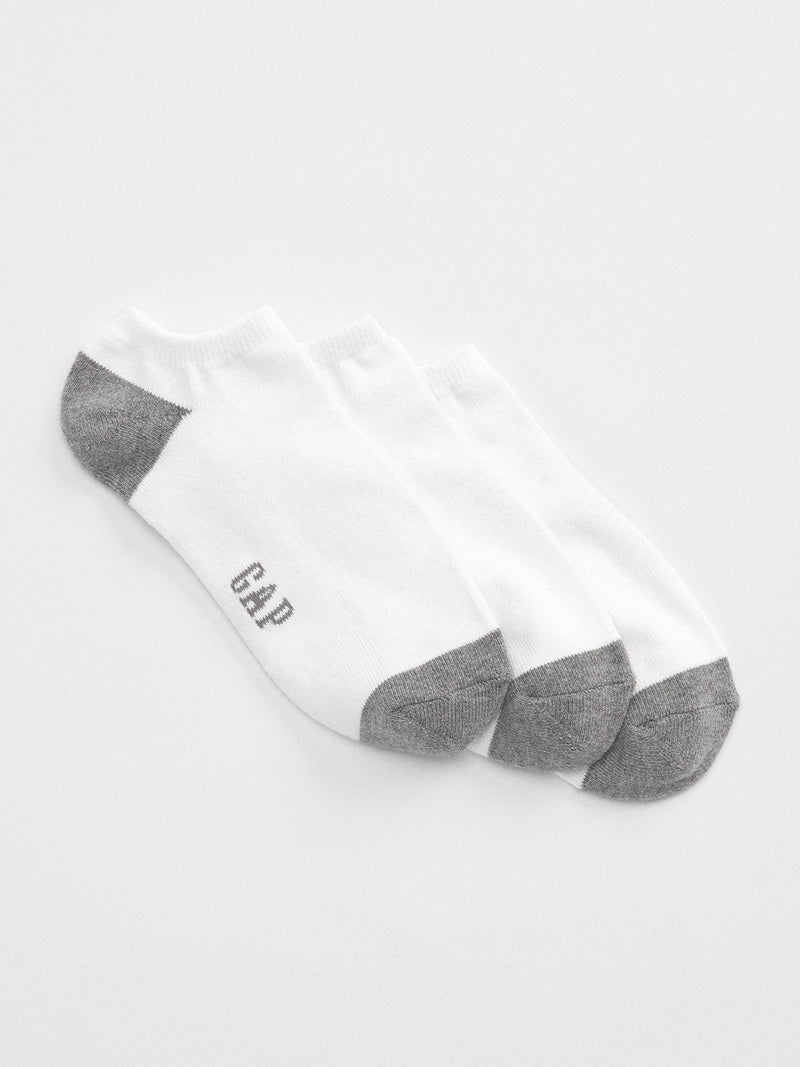 Gap Ankle Socks (3-Pack) - White