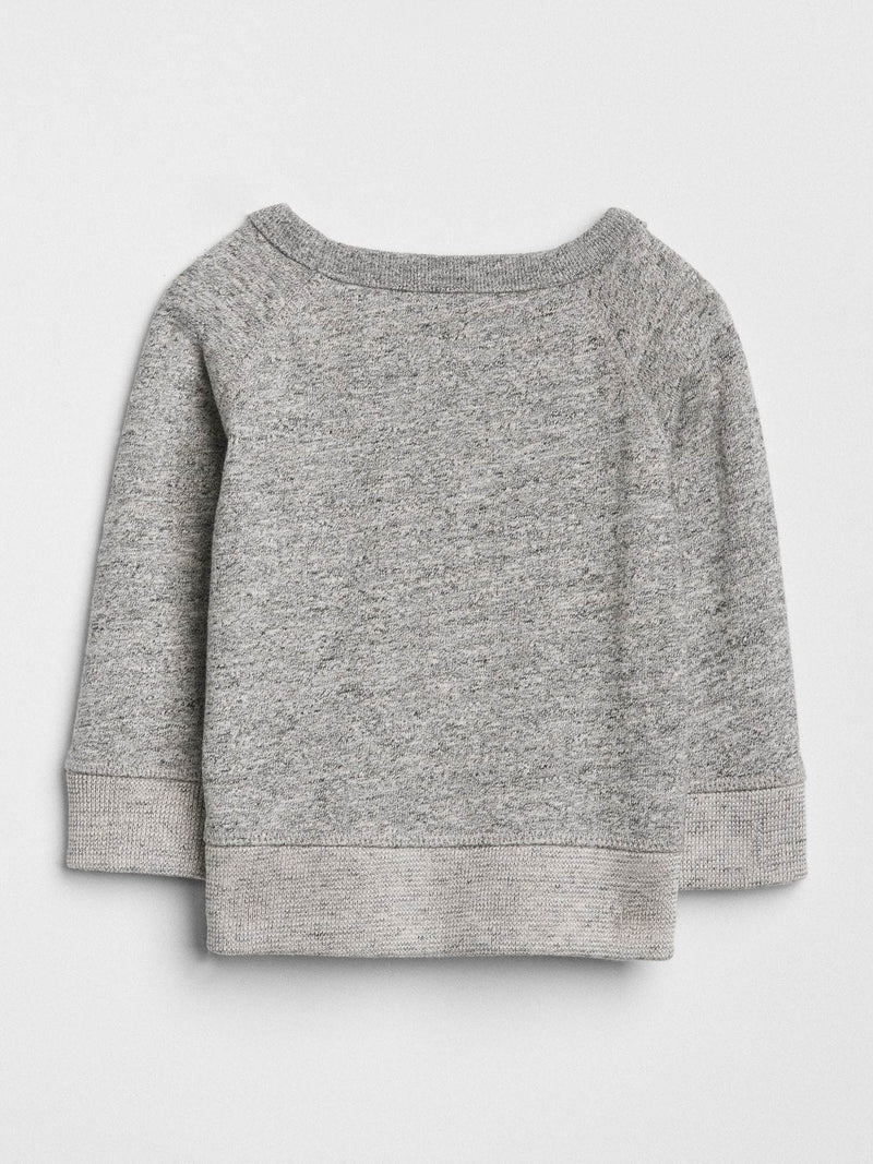 Sweater Active Crew-GREY HEATHER