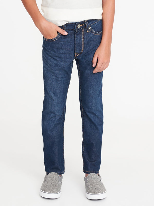 Basic Jeans- Skinny Indigo-Medium Wash