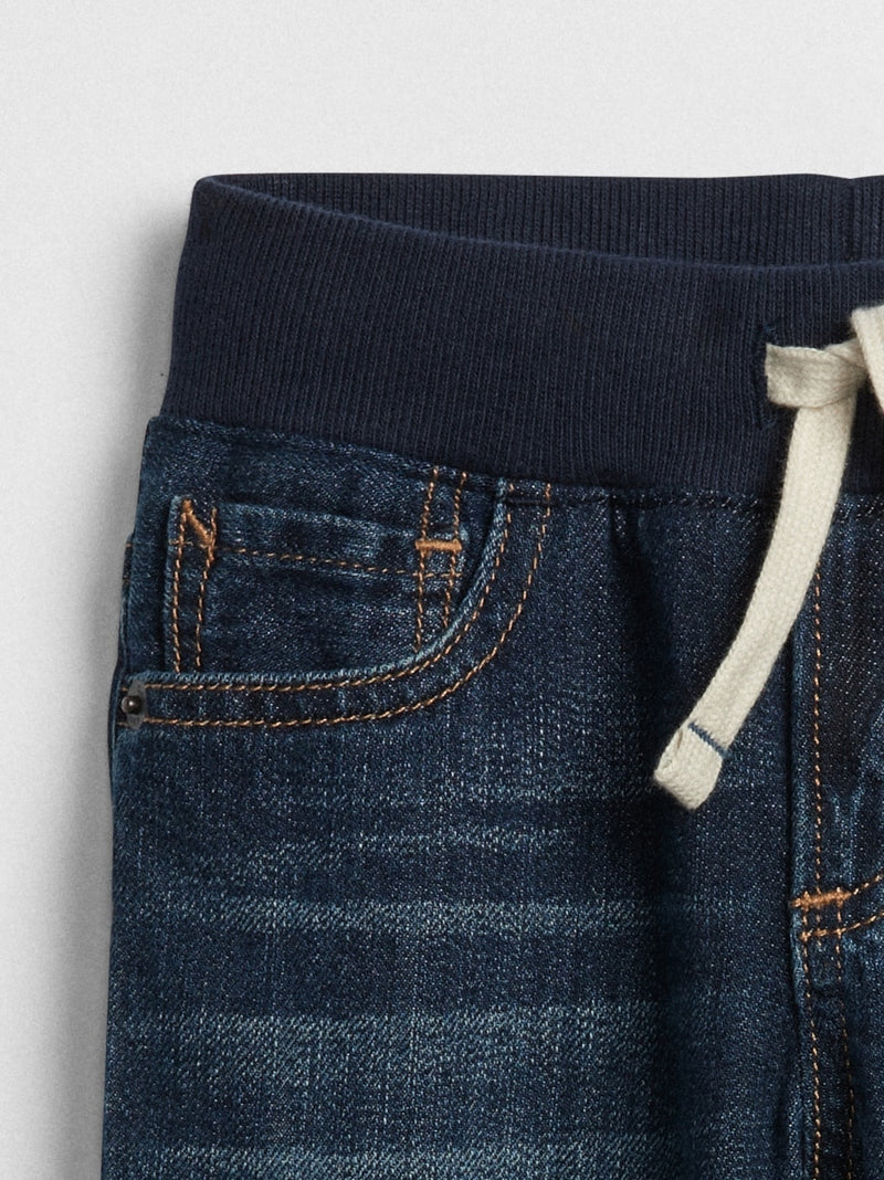 Gap Toddler Pull-On Slim Jeans. - Dark Wash Indigo