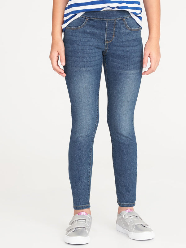 Jeans Skinny Pull On-MEDIUM