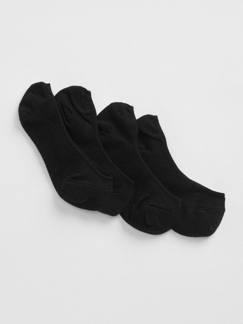 Gap No-Show Socks (2-Pack) - True Black