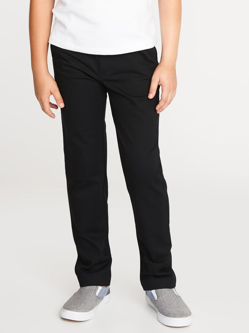 ON Skinny Built-In Flex Uniform Pants for Boys - Negro Jack
