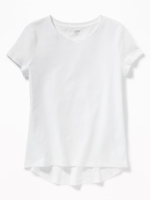ON Camiseta Softest Crew-Neck Tee for Girls - Calla Lily