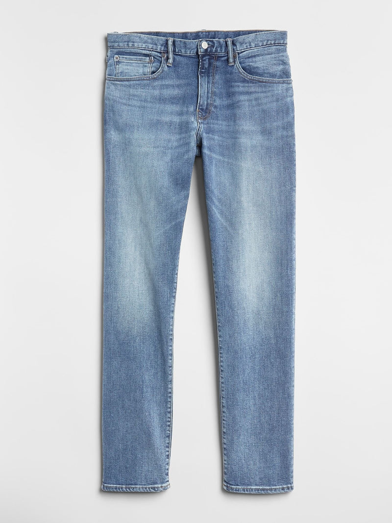 Denim 5 Pkt-Slim Straight -MEDIUM INDIGO