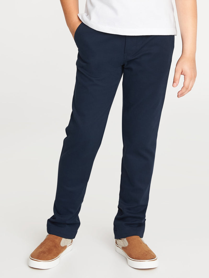 ON Skinny Built-In Flex Uniform Pants for Boys - Ink Azul