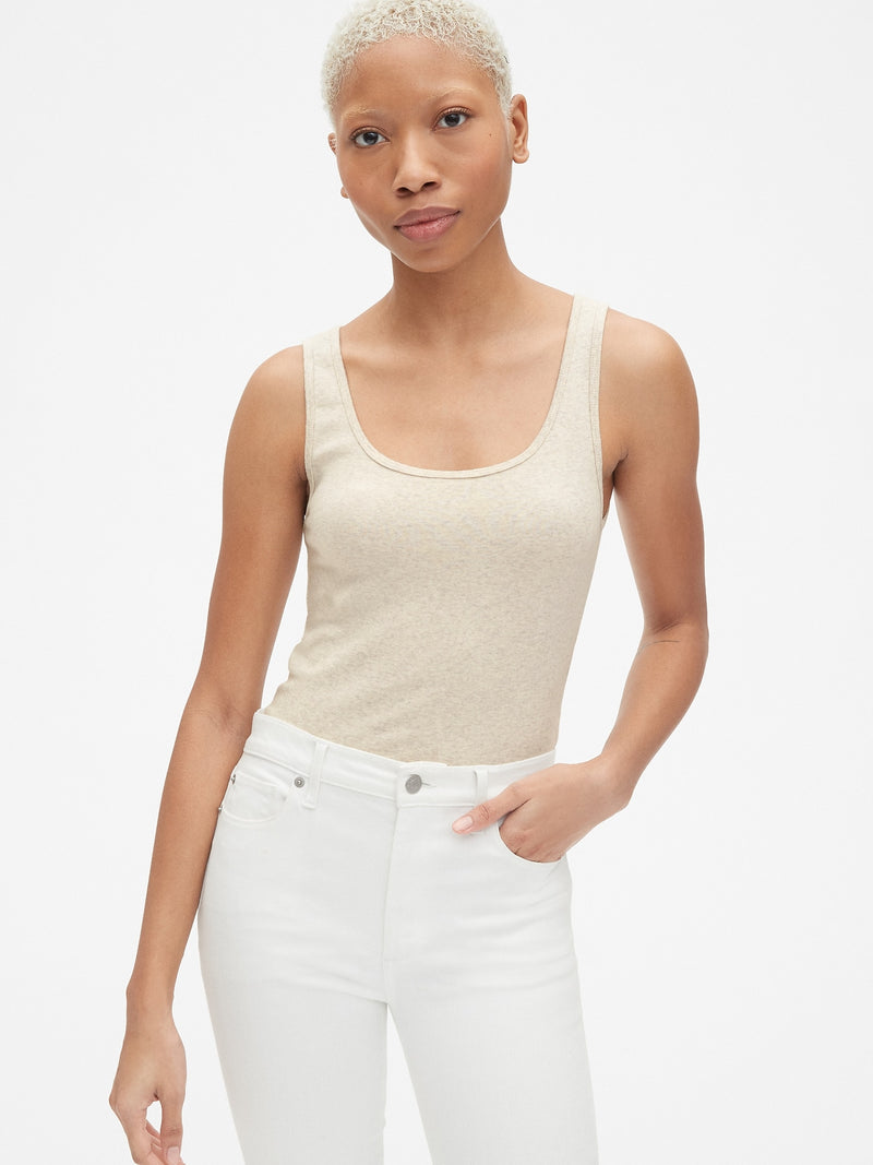 Gap Modern Tank Top - Beige